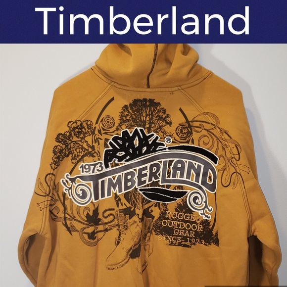 Timberland Other - 🌳Timberland Embroidered Zip Up Hoodie Jacket-Rare
